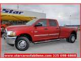 Inferno Red Crystal Pearl Dodge Ram 3500 in 2010