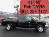 2011 Black Chevrolet Silverado 1500 LT Extended Cab 4x4 #57539681