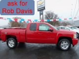 2011 Victory Red Chevrolet Silverado 1500 LT Extended Cab 4x4 #57539680