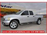 2008 Bright Silver Metallic Dodge Ram 1500 SLT Quad Cab #57539995