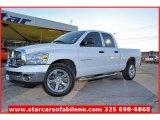 2007 Bright White Dodge Ram 1500 SLT Quad Cab #57539992