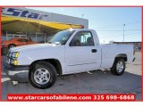 2004 Summit White Chevrolet Silverado 1500 LS Regular Cab #57539989