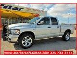 2008 Bright Silver Metallic Dodge Ram 1500 Lone Star Edition Quad Cab 4x4 #57539984