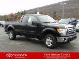 2011 Ebony Black Ford F150 XLT SuperCab 4x4 #57540337