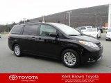 2011 Black Toyota Sienna XLE #57540330