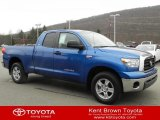 2008 Blue Streak Metallic Toyota Tundra SR5 Double Cab 4x4 #57540329