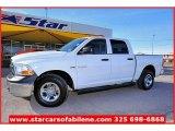 2010 Stone White Dodge Ram 1500 ST Crew Cab 4x4 #57539978