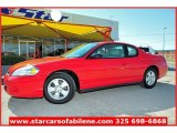 2006 Victory Red Chevrolet Monte Carlo LT #57539975