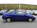 2007 Laser Blue Metallic Chevrolet Cobalt LS Coupe #57540312