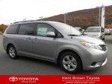 2012 Silver Sky Metallic Toyota Sienna LE #57540280