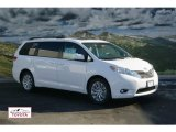 2012 Super White Toyota Sienna XLE AWD #57539589