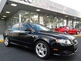 2008 Brilliant Black Audi A4 2.0T S-Line Sedan #57540251