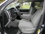 2010 Toyota Tundra CrewMax Graphite Gray Interior