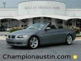2008 Space Grey Metallic BMW 3 Series 335i Convertible #57539545