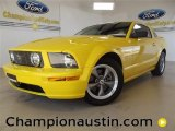 2006 Screaming Yellow Ford Mustang GT Premium Coupe #57539519