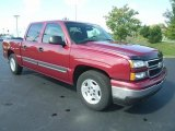 Sport Red Metallic Chevrolet Silverado 1500 in 2006