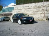 2009 Crystal Black Pearl Acura TSX Sedan #57610735
