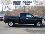 2012 Black Chevrolet Silverado 1500 LT Extended Cab 4x4 #57610294