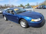 1999 Atlantic Blue Metallic Ford Mustang V6 Coupe #57611137