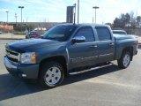 2008 Graystone Metallic Chevrolet Silverado 1500 LT Crew Cab #57610688