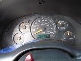 1998 Chevrolet S10 LS Extended Cab Gauges
