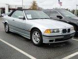 1998 Arctic Silver Metallic BMW 3 Series 328i Convertible #57610660