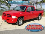 1999 Flame Red Dodge Ram 1500 Sport Extended Cab #57610658