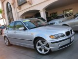 2004 Titanium Silver Metallic BMW 3 Series 325i Sedan #57610233