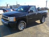 2011 Black Chevrolet Silverado 1500 LS Regular Cab 4x4 #57610630