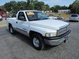 2001 Bright White Dodge Ram 1500 SLT Regular Cab #57611091