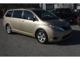 2011 Sandy Beach Metallic Toyota Sienna LE #57610619