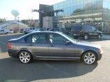 2001 Steel Grey Metallic BMW 3 Series 325i Sedan #57610193