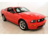 2005 Torch Red Ford Mustang GT Premium Coupe #57610604
