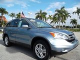 2010 Glacier Blue Metallic Honda CR-V EX-L #57610169