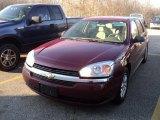 2005 Sport Red Metallic Chevrolet Malibu Maxx LS Wagon #57610589