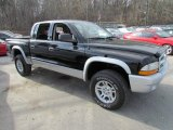 2004 Black Dodge Dakota SLT Quad Cab 4x4 #57611053