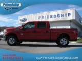 2012 Vermillion Red Ford F250 Super Duty Lariat Crew Cab 4x4 #57610144