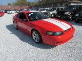 2001 Performance Red Ford Mustang Cobra Coupe #57611030