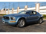 2005 Windveil Blue Metallic Ford Mustang V6 Premium Coupe #57610536