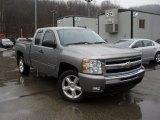 2009 Graystone Metallic Chevrolet Silverado 1500 LT Extended Cab 4x4 #57610099