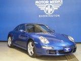 2008 Cobalt Blue Metallic Porsche 911 Carrera Coupe #57610083