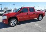 2009 Victory Red Chevrolet Silverado 1500 LT Crew Cab 4x4 #57610957