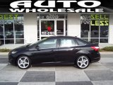 2012 Black Ford Focus Titanium Sedan #57610461