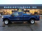 2012 Dark Blue Pearl Metallic Ford F250 Super Duty XLT SuperCab 4x4 #57610417