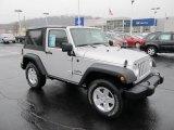 2011 Bright Silver Metallic Jeep Wrangler Sport S 4x4 #57609980