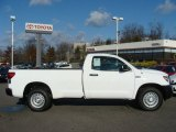 2011 Super White Toyota Tundra Regular Cab 4x4 #57610354