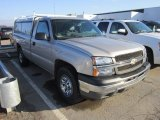 2005 Silver Birch Metallic Chevrolet Silverado 1500 Regular Cab 4x4 #57609946