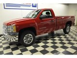 2012 Victory Red Chevrolet Silverado 1500 LS Regular Cab #57610868