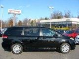 2011 Black Toyota Sienna XLE AWD #57610344