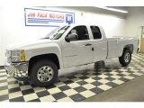 2012 Summit White Chevrolet Silverado 1500 LS Extended Cab 4x4 #57610861